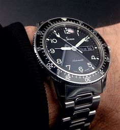 Sinn 104 Sport Watches, Cool Watches, Rolex Watches, Wrist Watches, Sinn Watch, Skeleton Watches, Telling Time, Luxury Watches For Men, Beautiful Watches