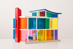 Laurie Simmons, Kaleidoscope House with Accessories Tiny Furniture, Dollhouse Furniture, Dollhouse Accessories, Modern Dollhouse, Wooden Puzzles, Step Inside, Wooden Diy, Organizer, Architecture