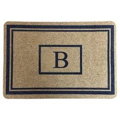 Threshold™ Monogram Doormat : Target