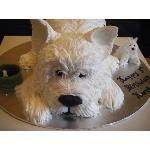 Westie Cake  Special Occasions/Holiday Cakes cakepins.com