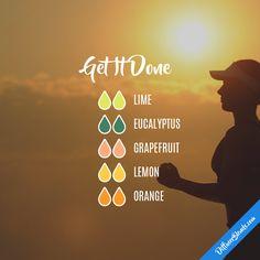 Get It Done — Essential Oil Diffuser Blend