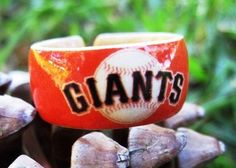 Wood Ring San Francisco Giants