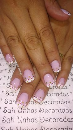 Manicure E Pedicure, Spring Nails, 1, Beauty, Work Nails, Enamels, Templates, French Tips, Flowers