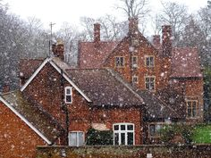 The Little Hermitage - outdoormagic: Snowy morning in Cambridge by. Cambridge England, England Uk, London England, Beautiful Sites, Beautiful Places, Beautiful Winter Scenes, Island Nations, English Countryside, Britain