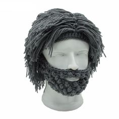 Warm and Shaggy cap/balaclava for the cave-dude in you!