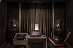 My office. Curtains, Studio, Music, Furniture, Home Decor, Musica, Blinds, Musik, Decoration Home