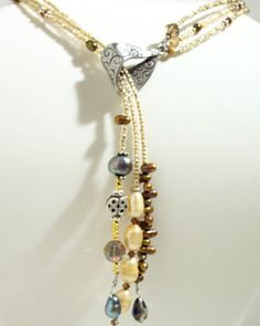 Angel Beige Lariat