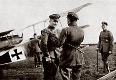 Manfred von Richthofen - A.K.A. The Red Baron - Considered the most dangerous fighter pilot of WWI for the Germans.