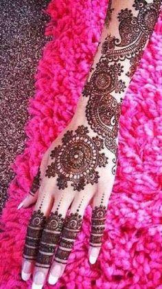 South Asian Wedding Blog | Fatima's Bridal House » Beautiful Bridal Mehndi Designs Part Three