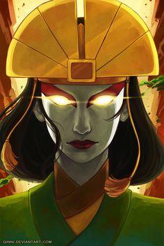 Avatar the Last Airbender/ Legend of Korra: Avatar Kyoshi by =Qinni on deviantART