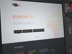 Landing Page by Barthelemy Chalvet for AgenceMe