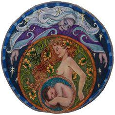 maiden, mother, crone