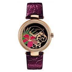 Versace Mystuque Hibiscus Watch