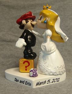 mario wedding cake topper 1000 images about mario theme wedding on 17154