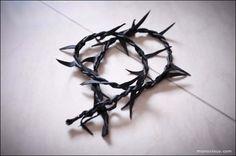DIY Tutorial Ann Demeulemeester Epine thorn bracelet