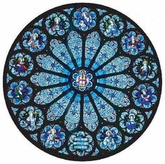 Rose windows have great radial design