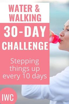 Walking Challenge, Water Challenge, Health Challenge, Weight Loss Challenge, Weight Loss Diet Plan, 30 Day Challenge, Weight Loss Plans, Weight Loss Program, Healthy Weight Loss