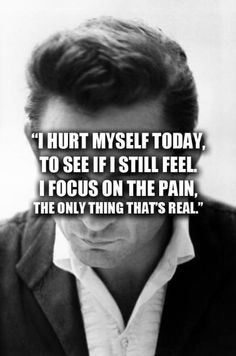 Johnny Cash ~ Hurt