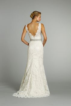 LOVE LOVE LOVE...I just hope when I have the chance to be married, this will look good on me...Love the lace, simple dresses