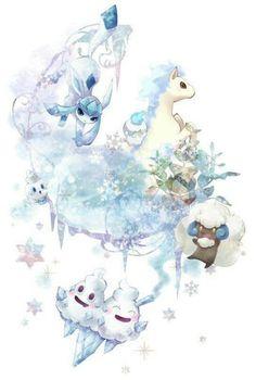 Meet The Ice Pokemon