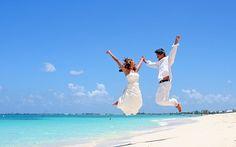 great beach wedding photograph
