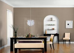 This is the project I created on Behr.com. I used these colors: AVENUE TAN(HDC-AC-04),BRISTOL BEIGE(HDC-AC-14),ASHEN TAN(N220-2),CREEK BEND(790F-4),