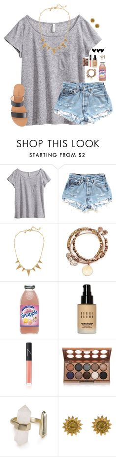 """""""RTD Please"""" by madison426 ❤ liked on Polyvore featuring H&M, J.Crew, Alex and Ani, Bobbi Brown Cosmetics, NARS Cosmetics, NYX, Kendra Scott and Bielka"""