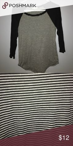 Super Soft Baseball Tee This shirt is so soft and comfy! Worn a couple of times, price negotiable! Rolla Coster Tops