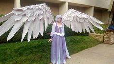 Cosplay how-to: Articulated Wings
