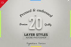 20 Best Pressed & Embossed Styles