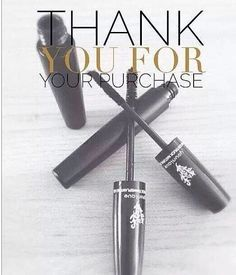Thank You for your Younique 3D Fiber Lashes order! You're going to LOVE
