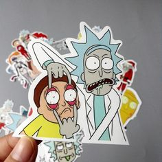 35 Pieces Rick and Morty Sticker