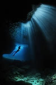 Underwater Cavern Photography