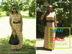 CocoZini » DIYs, Stylish Fashion Finds and More by BiKé » Sew a Maxi Dress in Less than an Hour