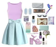 """Purple and blue"" by jordyngrace10 ❤ liked on Polyvore featuring Glamorous, Chicwish, H&M, Casetify, Swarovski, OPI, Yankee Candle, OKA, Topshop and Gucci"