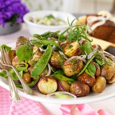 Recept på Rostad potatissallad från - Hemmets Journal