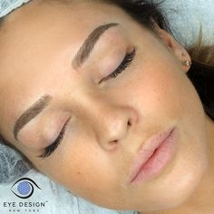 Affordable eyebrow microblading in New York for beautiful custom brow design, shape, color and intensity. The perfect semi permanent solution to correct thin eyebrows! Mircoblading Eyebrows, Eyebrows Goals, Blonde Eyebrows, Permanent Makeup Eyebrows, Arched Eyebrows, Natural Eyebrows, Eyebrow Makeup, Skin Makeup, Blonde Microblading