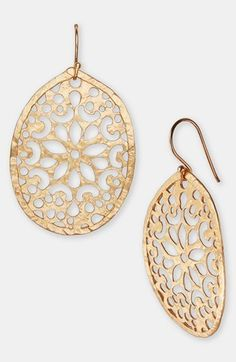 Laser Cut Drop Earrings by Argento Vivo | Nordstrom