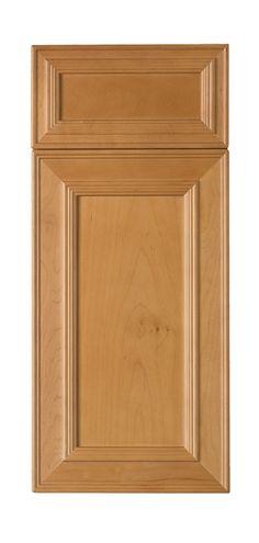 Eudora *** Our Cabinet Frameless Door Styles *** Maple Brighton ...