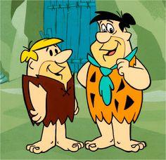 The Flintstones Fred and Barney Publicity Cel (Hanna-Barbera, 1960s) | Flickr - Photo Sharing!