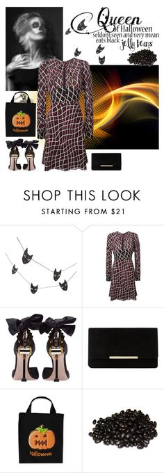 """""""Halloween Contest"""" by petalp ❤ liked on Polyvore featuring Crate and Barrel, Gucci, Miu Miu and Dune"""