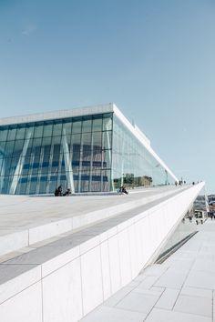 Take a Tour of the Oslo Opera House
