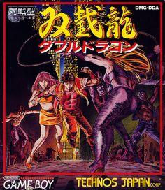 double dragon japanese game box art - Google Search