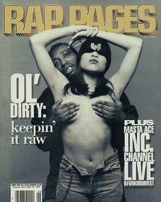 #8. Ol Dirty Bastard (Rap Pages, 1995) - The 50 Greatest Hip-Hop Magazine Covers | Complex