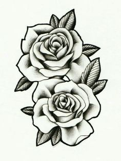 Roses to Print coloring pages: tatoo, realistic, fabric painting - realistic rose designs - Rose Drawing Tattoo, Pink Drawing, Tattoo Sketches, Tattoo Drawings, Body Art Tattoos, Sleeve Tattoos, Tatoos, Rose Drawings, Rose Tattoo Forearm