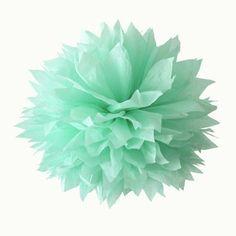 Mintgrön pompom