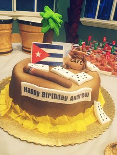 Cuban themed party