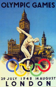 """The 1948 London Olympics were known as the """"Austerity Games"""".  The guns of war had scarcely fallen silent when London volunteered to host what would be the first Summer Olympic Games in 12 years. The city was still rebuilding from war's carnage. Rations were still in effect.  As much as anything, according to The Times, it was the arrival of the Olympic torch from Greece that touched Britons — the fresh wounds of war making more meaningful its passage """"from hand to hand, crossing the…"""