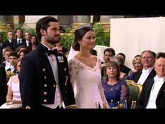 Prince Carl Philip of Sweden & Sofia (Wedding ceremony) (June 2015) You have to at least go to the 45 minute mark. THE MOST different royal wedding EVER....