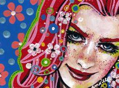 #Art by Amylee @the_artygirl for the #twitterartexhibit in #LA. www.amylee.fr